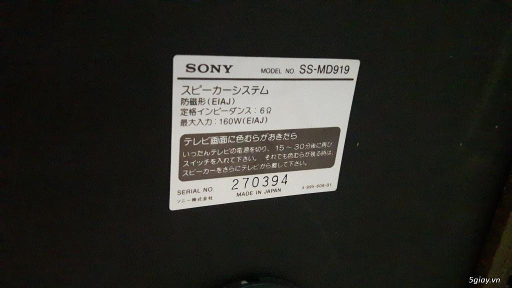 Dàn âm thanh cao cấp SONY MD919 made in Japan . 0908342298 zalo nhé - 3