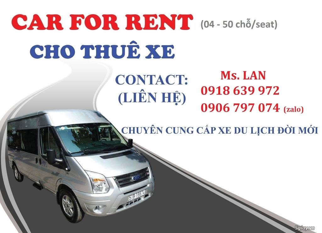 Cho thuê xe giá rẻ, có liên kết với UBER