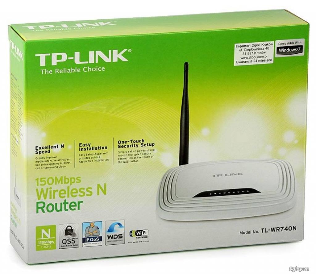 Thiết bị mạng giá rẻ TENDA, TP Link, DLINK,.. - 1