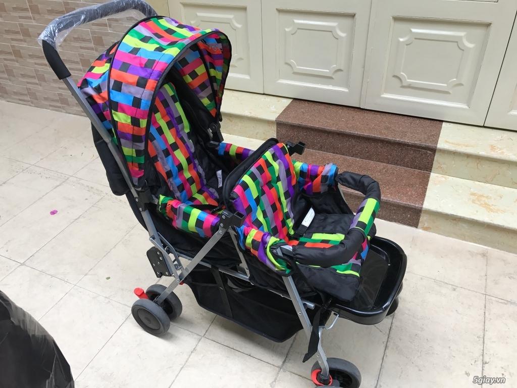 xe đẩy đôi cho bé 3 tháng đến 3 tuổi