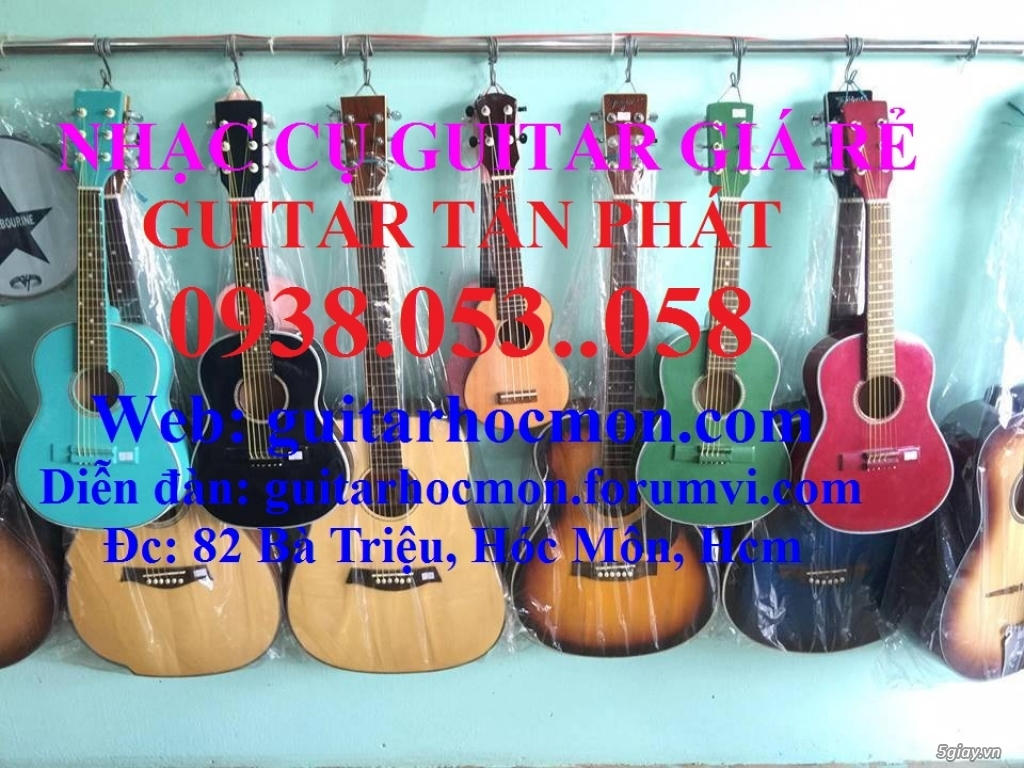Bán Guitar Gía Rẻ Hóc Môn - 28
