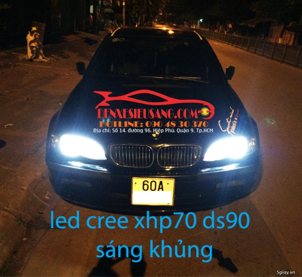 Đ 232 N Led Cree Xhp70 V 224 Xhp70 L7 S 225 Ng Khủng Cho Oto 5giay