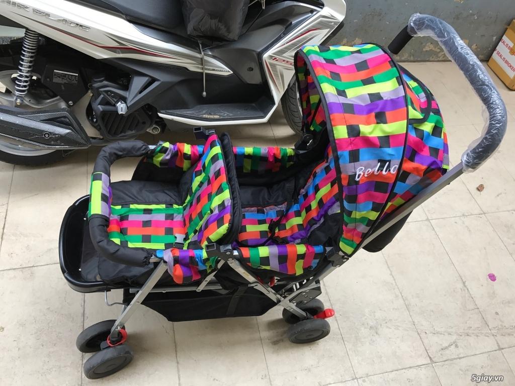 xe đẩy đôi cho bé 3 tháng đến 3 tuổi - 3