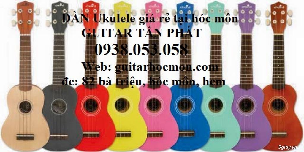 Bán đàn ukulele giá rẻ Hóc Môn  - ship COD toàn quốc