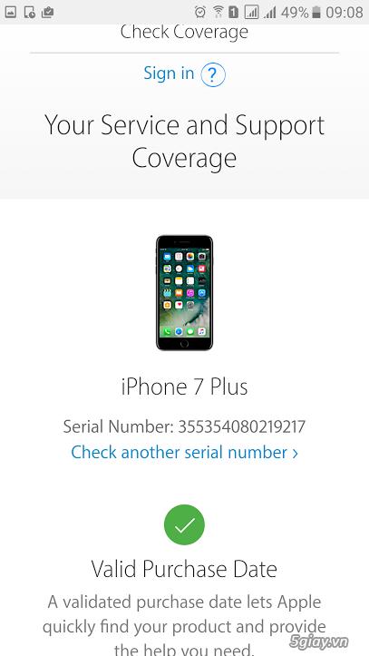 iPhone 7 Plus 128GB màu Black new 99% Fullbox - 1