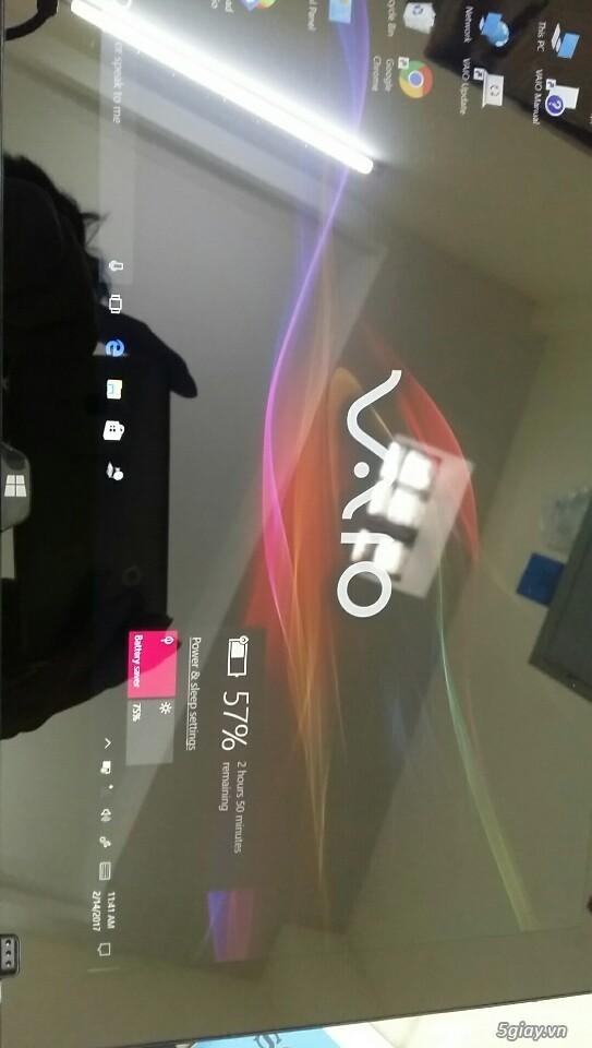 LAPTOP - HàngHiếm-Sony Vaio TAP 11 Tablet Touch 2014 Siêu Nhẹ780gam,ThếHệ4,Core Likenew 99%- Giá Tốt - 34