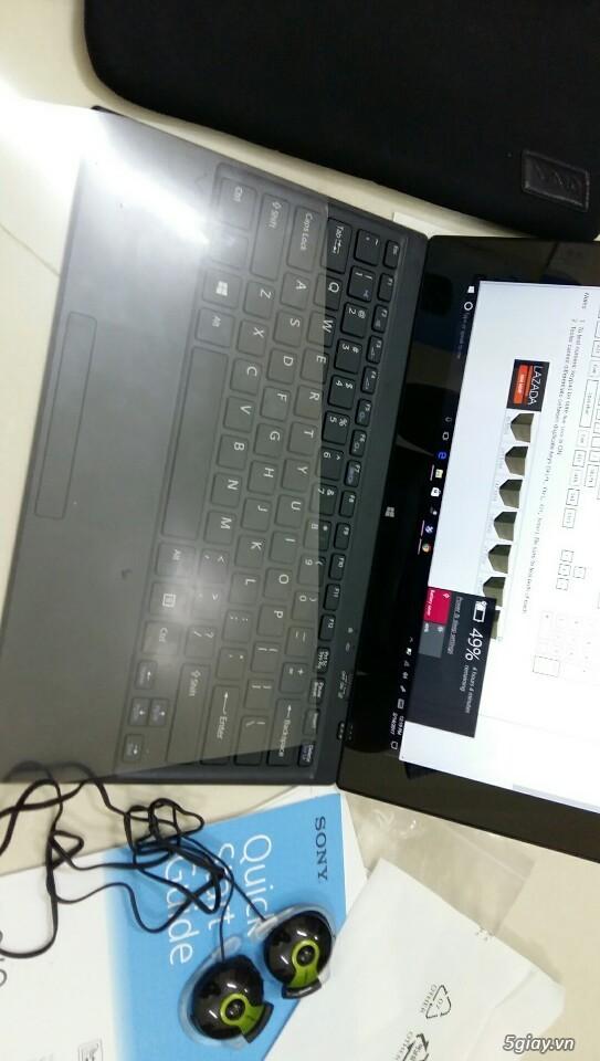 LAPTOP - HàngHiếm-Sony Vaio TAP 11 Tablet Touch 2014 Siêu Nhẹ780gam,ThếHệ4,Core Likenew 99%- Giá Tốt - 42