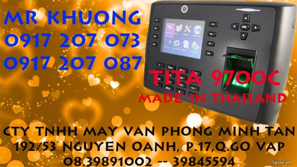 Máy chấm công vân tay Made in Thailand