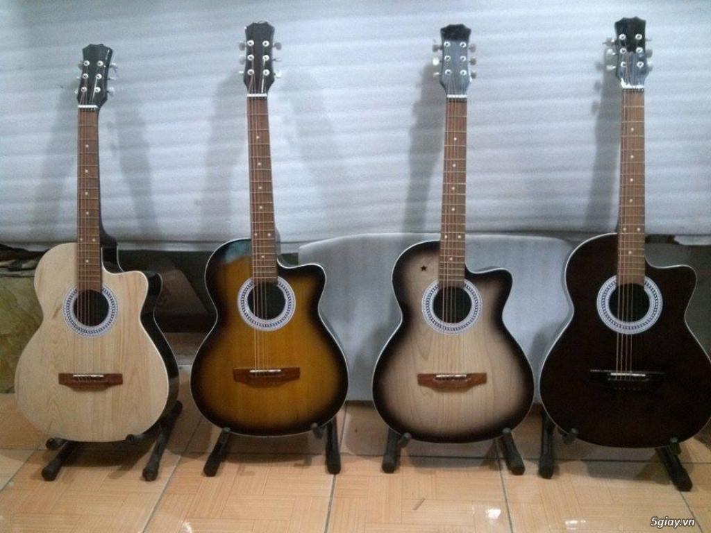 Nhận gắn EQ, Pickup, Equalizer, đàn guitar thùng giá rẻ HÓC MÔN - 23