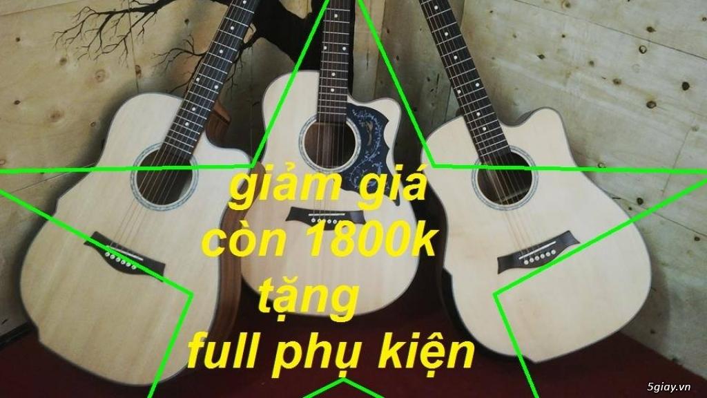 Nhận gắn EQ, Pickup, Equalizer, đàn guitar thùng giá rẻ HÓC MÔN - 18