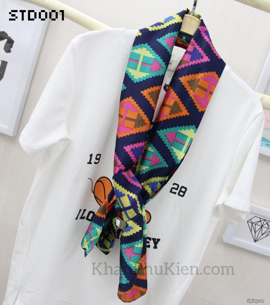 KhanPhuKien.com - Khăn Quàng Cổ / Khăn Choàng Cổ Thời Trang Nữ Đẹp - 10