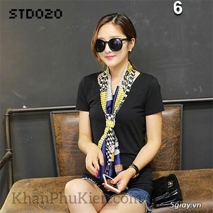 KhanPhuKien.com - Khăn Quàng Cổ / Khăn Choàng Cổ Thời Trang Nữ Đẹp - 33