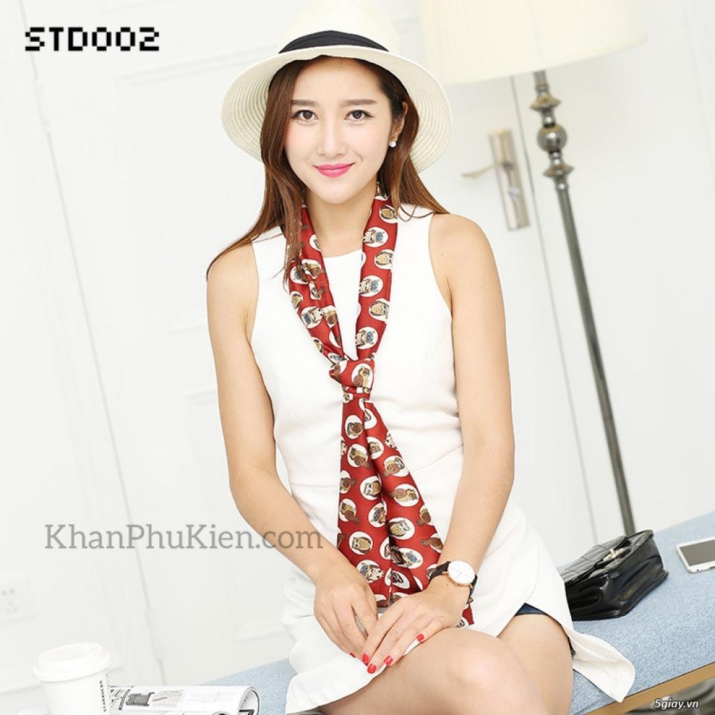 KhanPhuKien.com - Khăn Quàng Cổ / Khăn Choàng Cổ Thời Trang Nữ Đẹp - 11