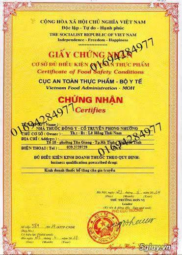 THUỐC BỔ TĂNG CÂN GIA TRUYỀN PHONG NHƯỠNG - 24
