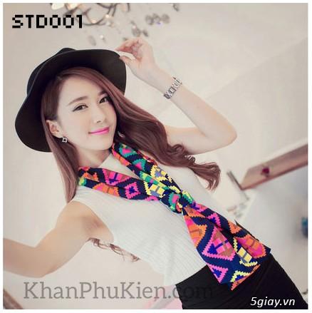 KhanPhuKien.com - Khăn Quàng Cổ / Khăn Choàng Cổ Thời Trang Nữ Đẹp - 9