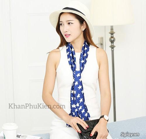 KhanPhuKien.com - Khăn Quàng Cổ / Khăn Choàng Cổ Thời Trang Nữ Đẹp - 15