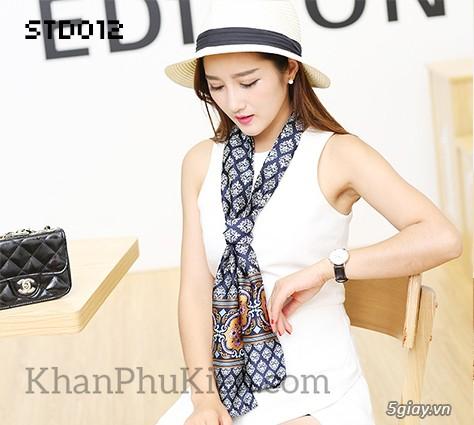 KhanPhuKien.com - Khăn Quàng Cổ / Khăn Choàng Cổ Thời Trang Nữ Đẹp - 23