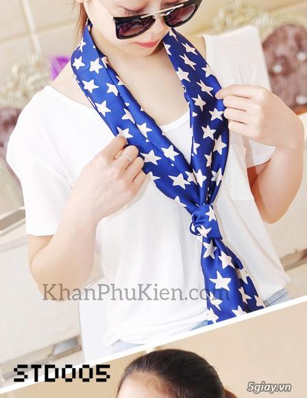 KhanPhuKien.com - Khăn Quàng Cổ / Khăn Choàng Cổ Thời Trang Nữ Đẹp - 16