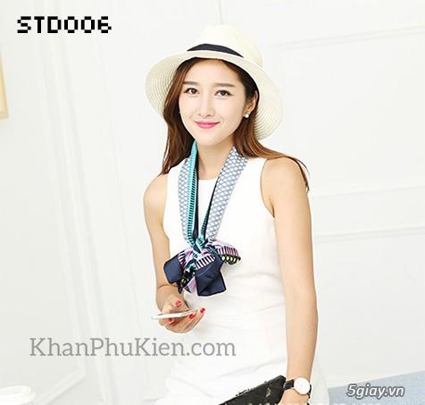 KhanPhuKien.com - Khăn Quàng Cổ / Khăn Choàng Cổ Thời Trang Nữ Đẹp - 14