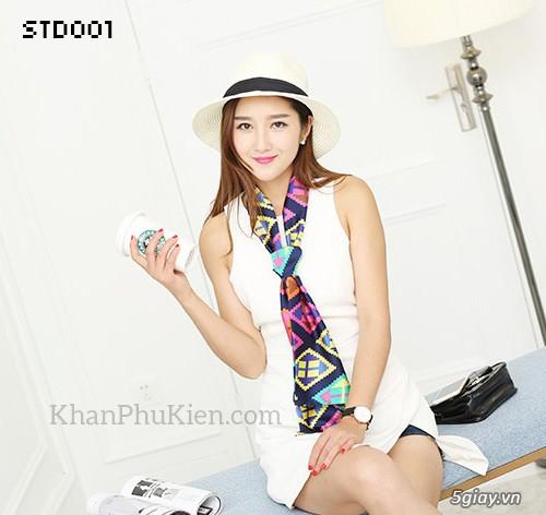 KhanPhuKien.com - Khăn Quàng Cổ / Khăn Choàng Cổ Thời Trang Nữ Đẹp - 8