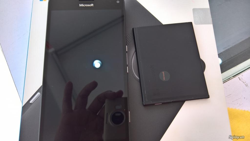 lumia 950xl bh 24/10 fptshop mới 98% - 1