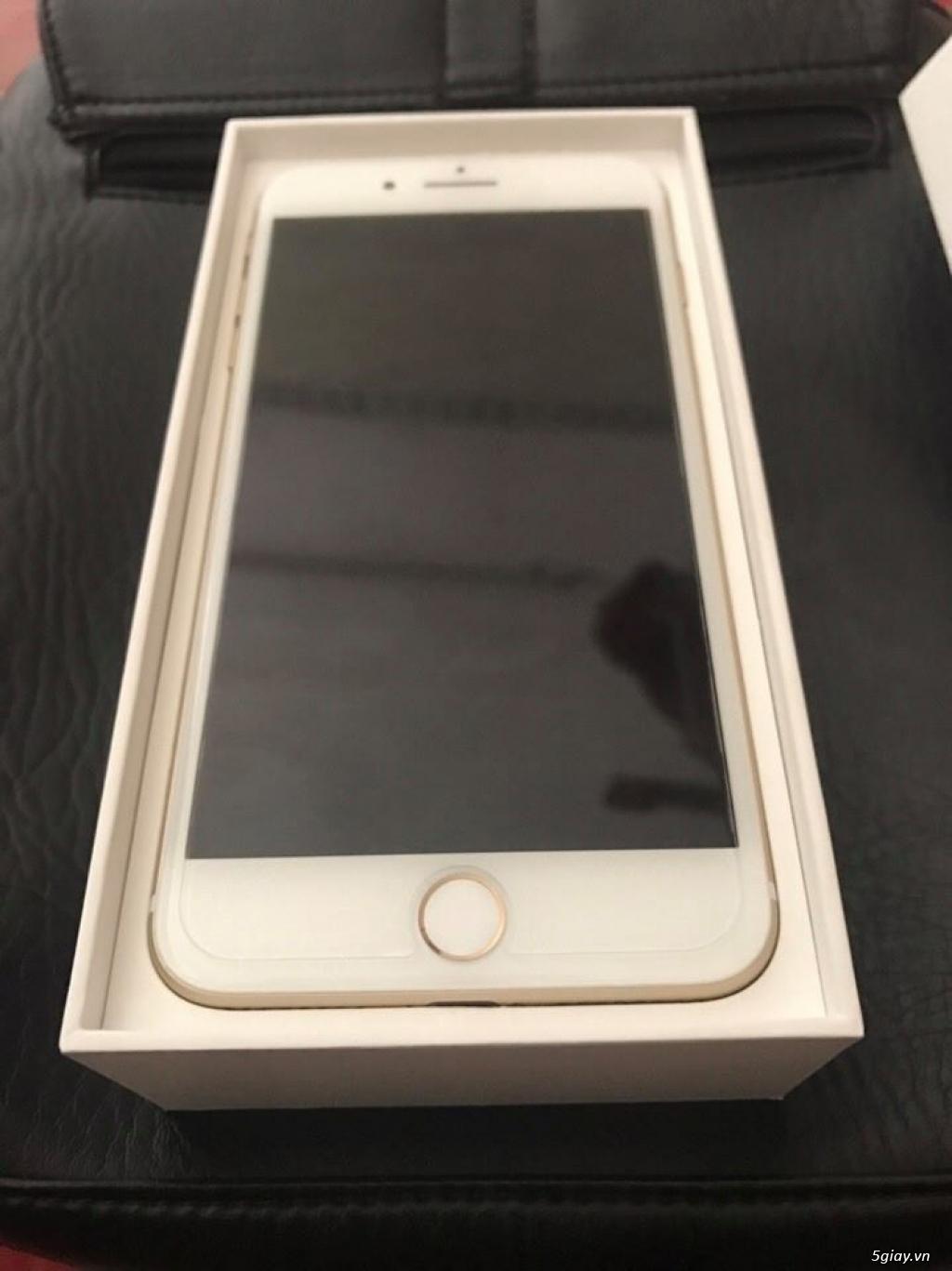bán Iphone 7 plus 128gb màu gold full box, hàng Mỹ