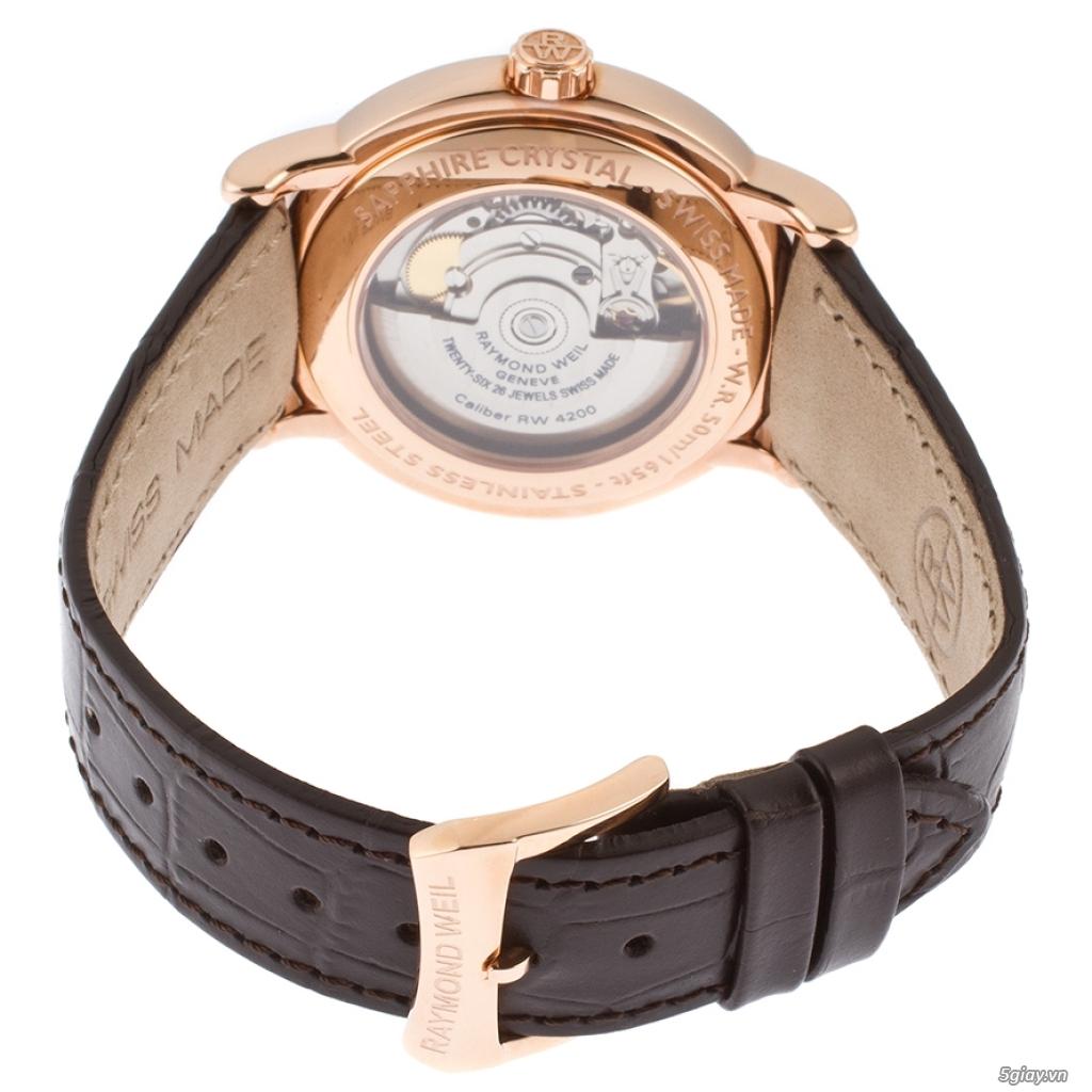 Đồng hồ Raymond Weil rose gold PVD