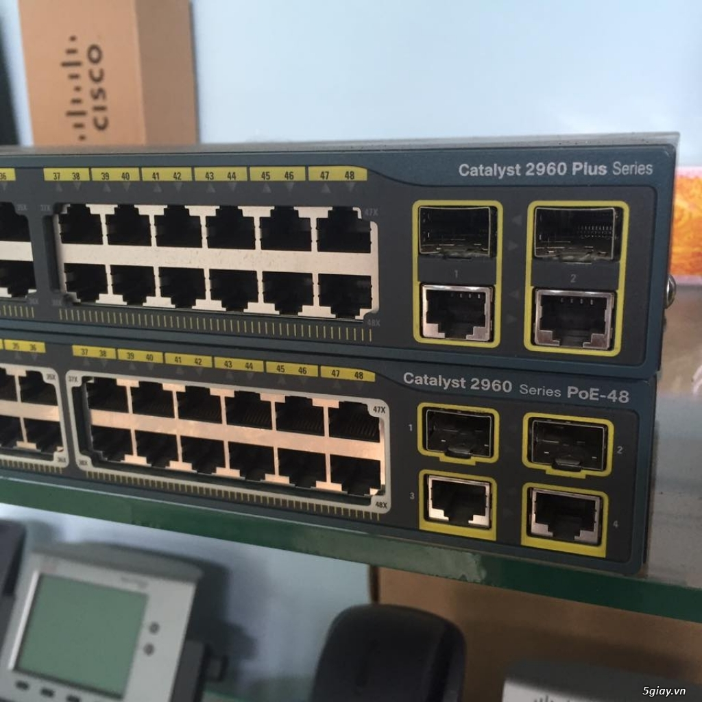 Cisco Switch - SFP - đã qua sử dụng - BH 06 tháng!