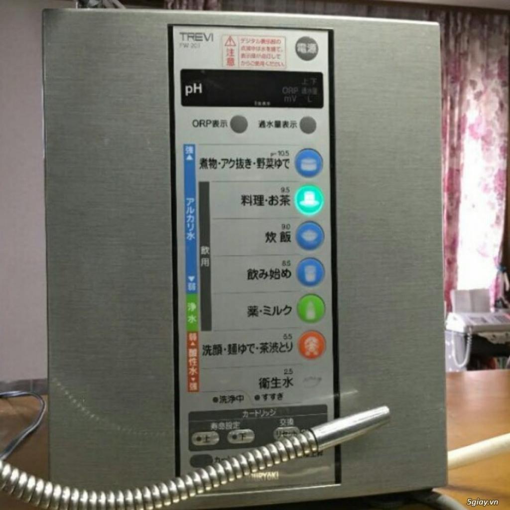 Máy tạo độ PH, lọc nước điện phân ION Kiềm, nước AlKALINE nội địa nhật - 6