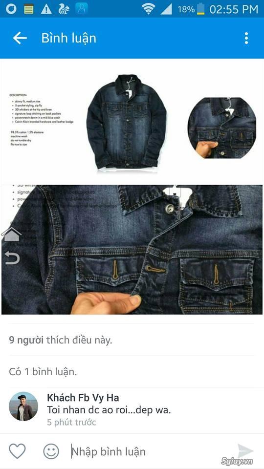 [TRÙM ĐỒ JEANS] - FCshop Chuyên quần jeans, sơmi jeans, khoác jeans ..