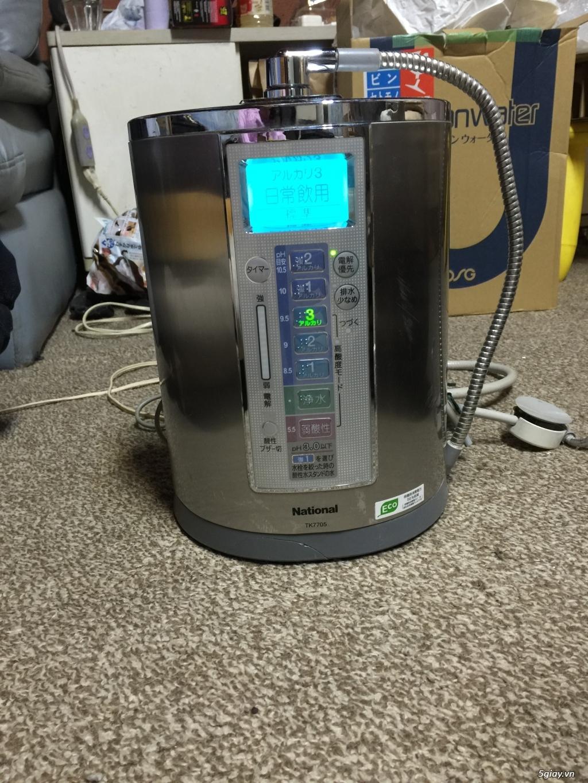 Máy tạo độ PH, lọc nước điện phân ION Kiềm, nước AlKALINE nội địa nhật - 3