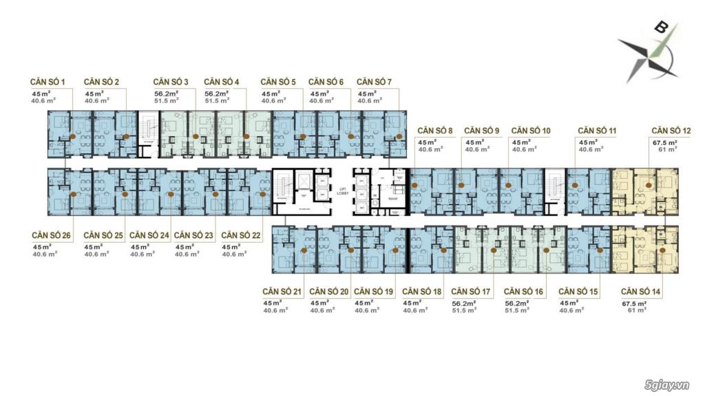 Sở hữu condotel chuẩn 4 sao Cocobay Ocean Spa Resort chỉ lần TT 790tr - 12
