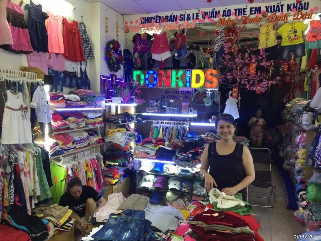 DONKIDS - Quần áo thời trang trẻ em sỉ lẻ toàn quốc - 3