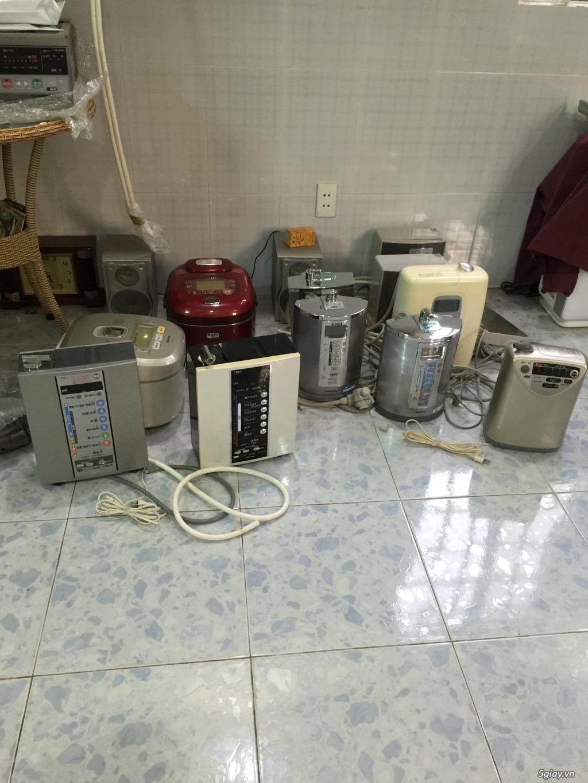 Máy tạo độ PH, lọc nước điện phân ION Kiềm, nước AlKALINE nội địa nhật