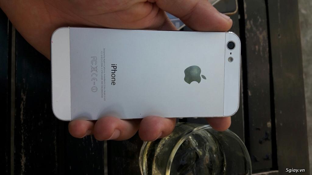IPHONE 5 WHITE 16G QUỐC TẾ - 1