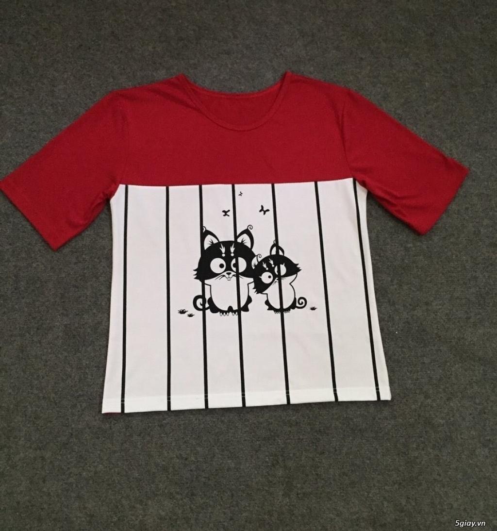Bỏ sỉ áo thun mẹ & bé 10k - 15k - 20k giá rẻ, chất lượng tốt nhất  !!! - 6
