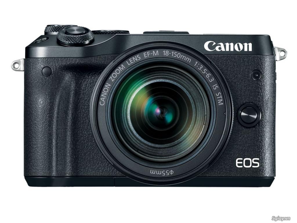 Canon chuẩn bị giới thiệu máy ảnh EOS M6 - 175560