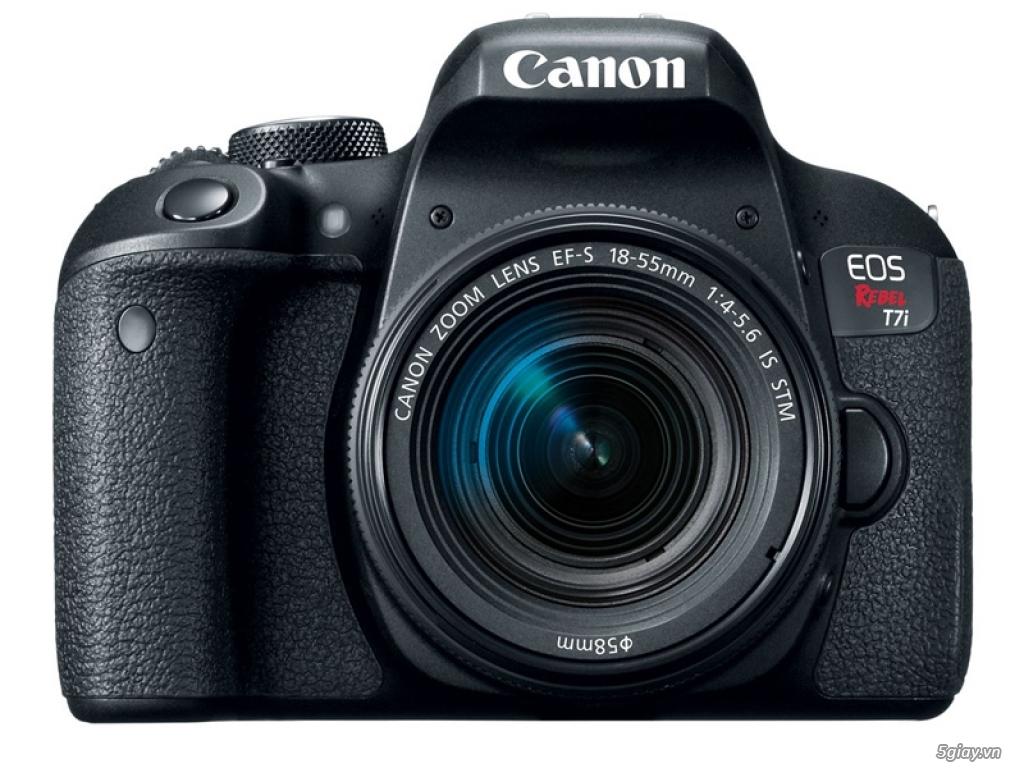 Ra mắt máy ảnh DLSR bán chuyên Canon EOS 800D - 175743