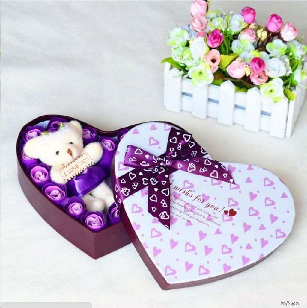 Hoa Hồng Mạ Vàng - Hoa Sáp Thơm Gift Shop - TiMon Shop Online - 5
