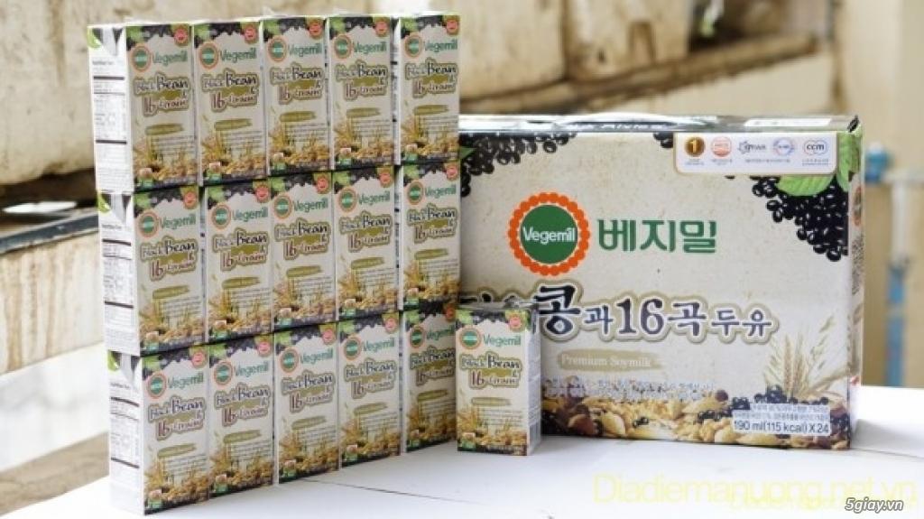 Sữa đậu nành vị ngũ cốc Vegemil