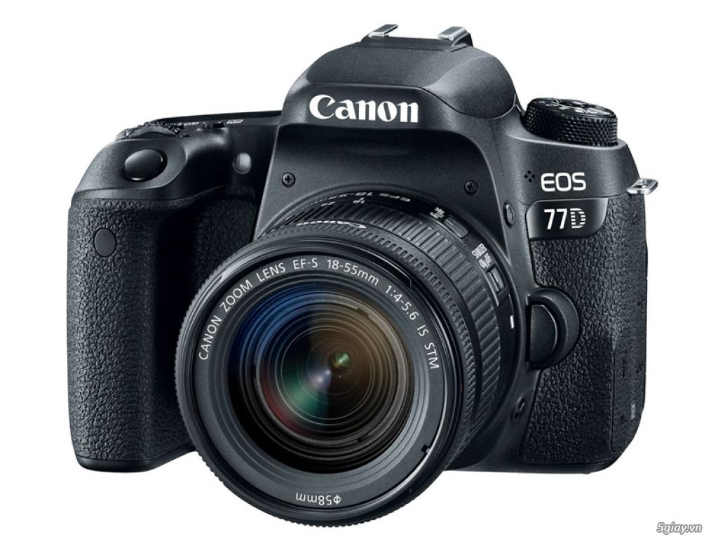 Canon rục rịch với máy ảnh bán chuyên EOS 77D - 176028