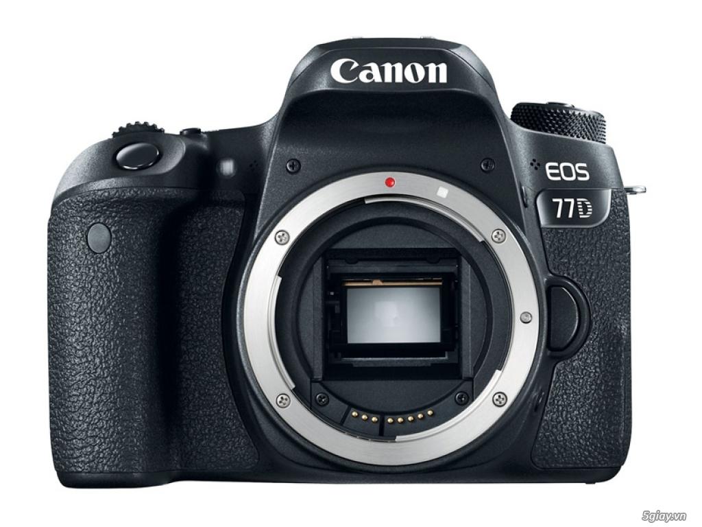 Canon rục rịch với máy ảnh bán chuyên EOS 77D - 176029