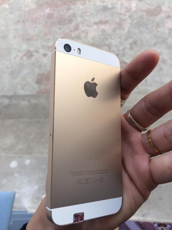 Iphone 5s gold vỏ zin99% - 2