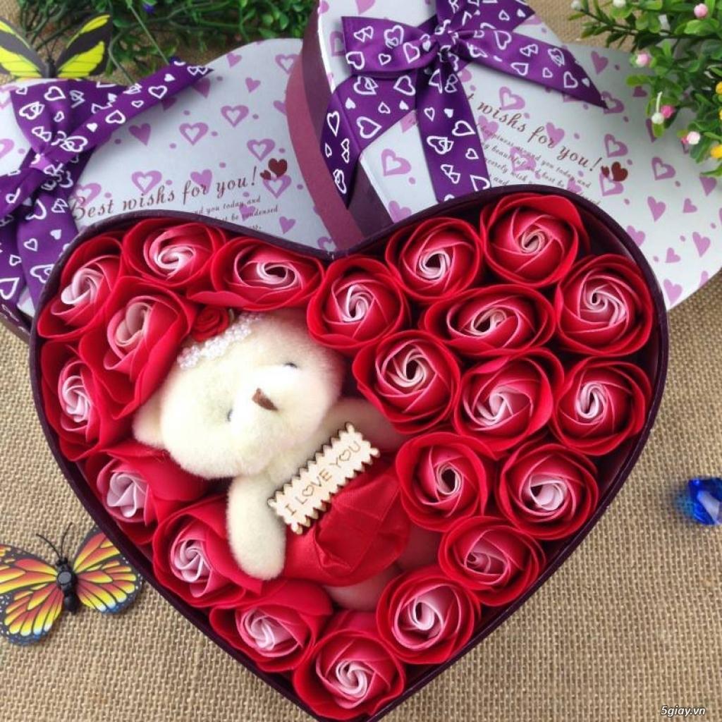 Hoa Hồng Mạ Vàng - Hoa Sáp Thơm Gift Shop - TiMon Shop Online - 4