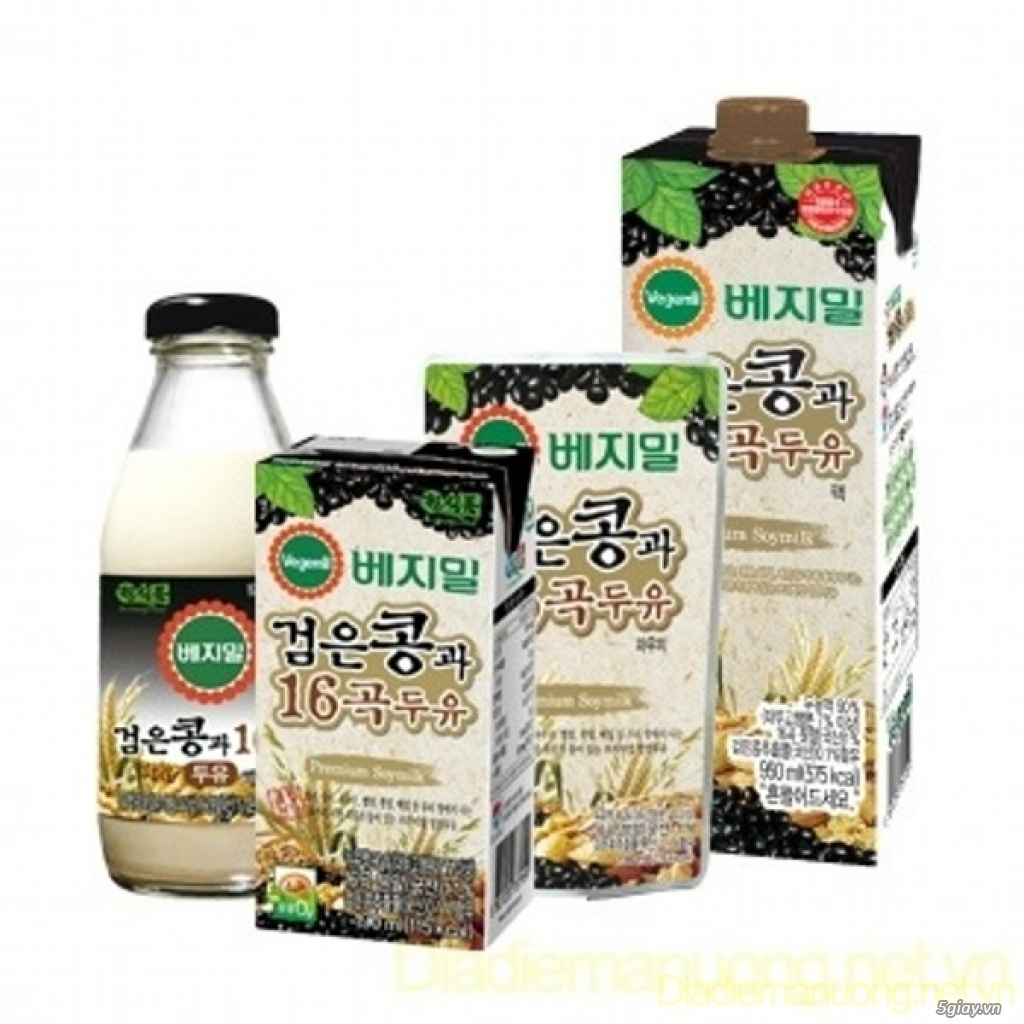 Sữa đậu nành vị ngũ cốc Vegemil - 1
