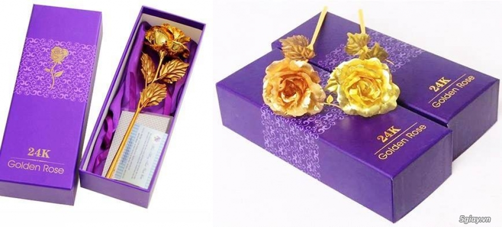Hoa Hồng Mạ Vàng - Hoa Sáp Thơm Gift Shop - TiMon Shop Online - 30