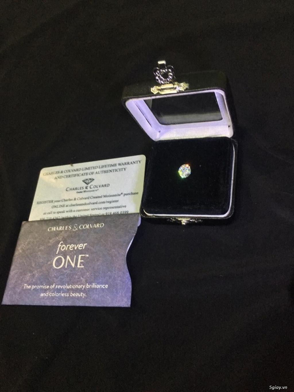 Cần bán 1 viên KC Moissanite ForeverOne 7,5mm*E-F - 1