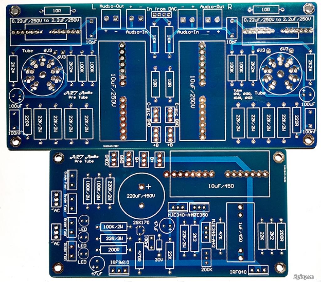 Linh kiện điện tử, PCB và DIY kit cho High-end Audio . ART Audio - 19