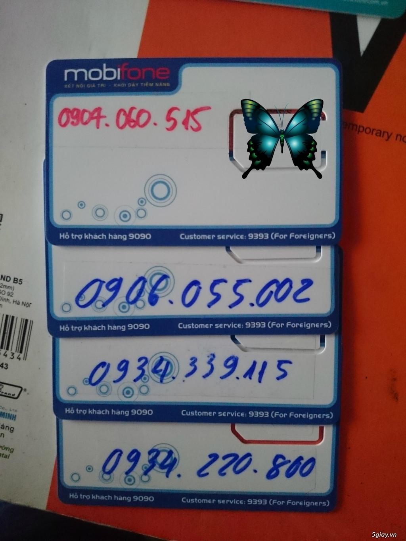 Sim Mobi dễ nhớ giá rẻ