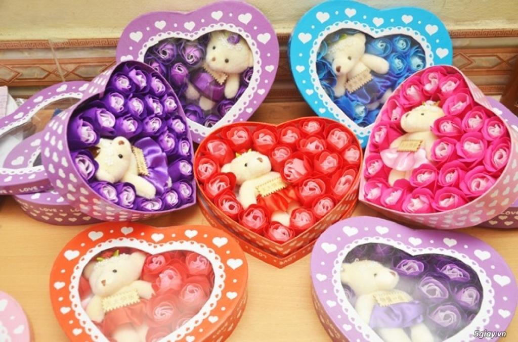 Hoa Hồng Mạ Vàng - Hoa Sáp Thơm Gift Shop - TiMon Shop Online - 11